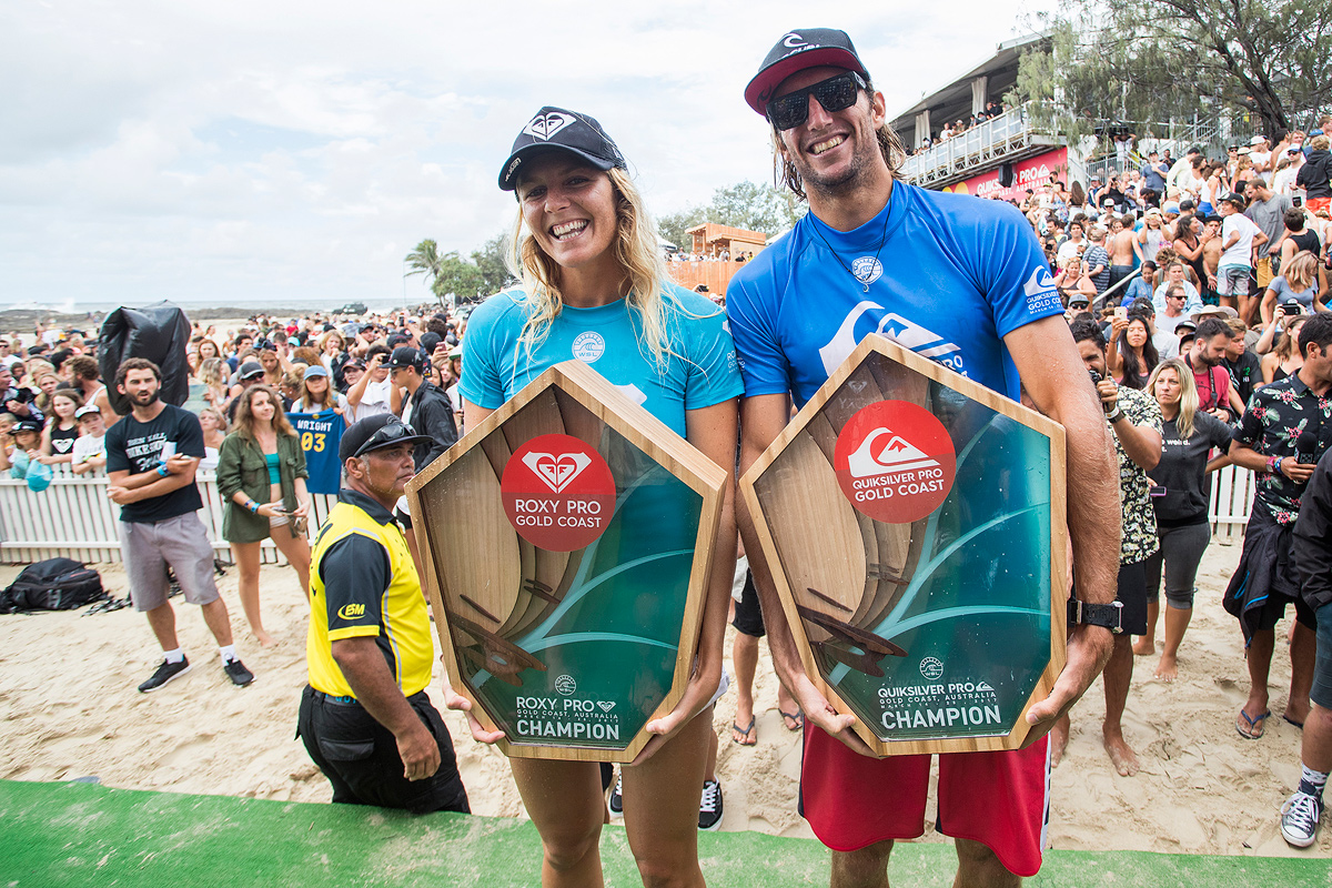 Owen Wright and Stephanie Gilmore Win Quiksilver and Roxy Pro Gold Coast 126c9c4bb19