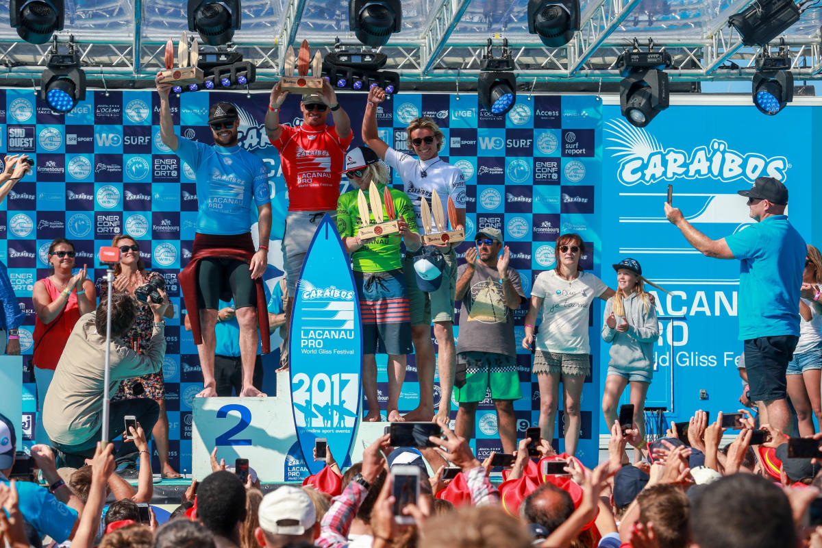 Men Podium.Caraibos Lacanau 2017
