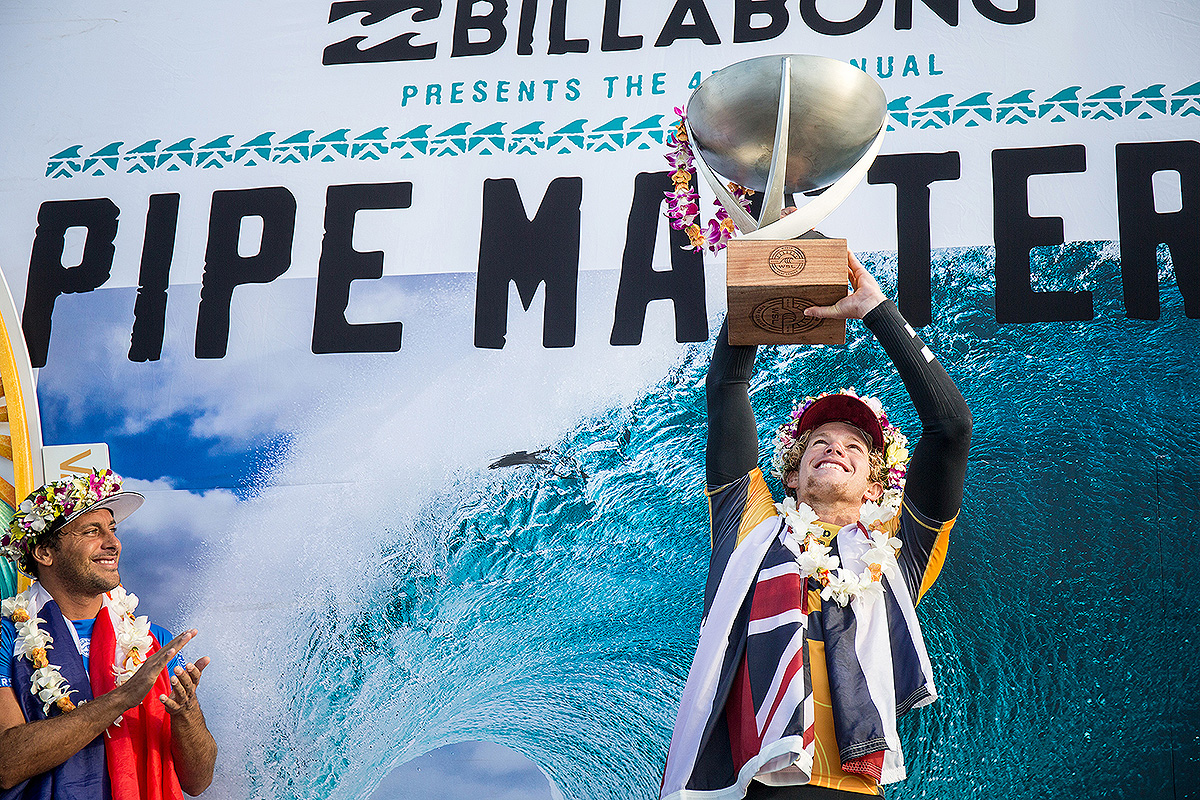 55ac1f13c7 Hawaii s John John Florence Claims Back-to-Back WSL Titles at Billabong  Pipe Masters