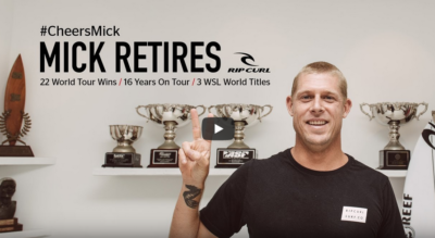 3x World Champion Mick Fanning Announces His Retirement From The…